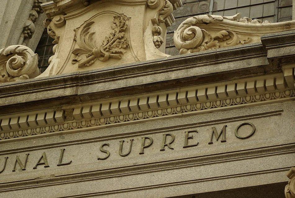 El supremo confirma la nulidad del acuerdo sobre clausula for Desde cuando se puede reclamar la clausula suelo