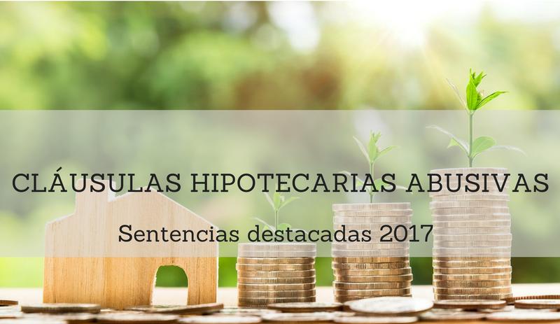 Nulidad cl usulas hipotecarias resumen sentencias del for Se puede reclamar clausula suelo